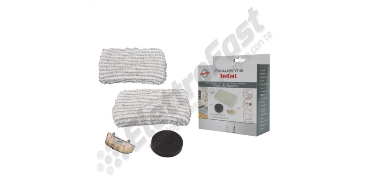 Filtro Scopa Vapore Clean /& Steam ROWENTA Panno ZR005801