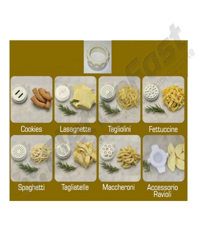 Kit trafile + ghiera pastamatic Ariete